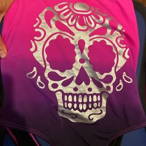 Other - Woman's skull bathing suit
